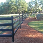 clayton-curved-fence-line
