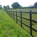 long-fence-line