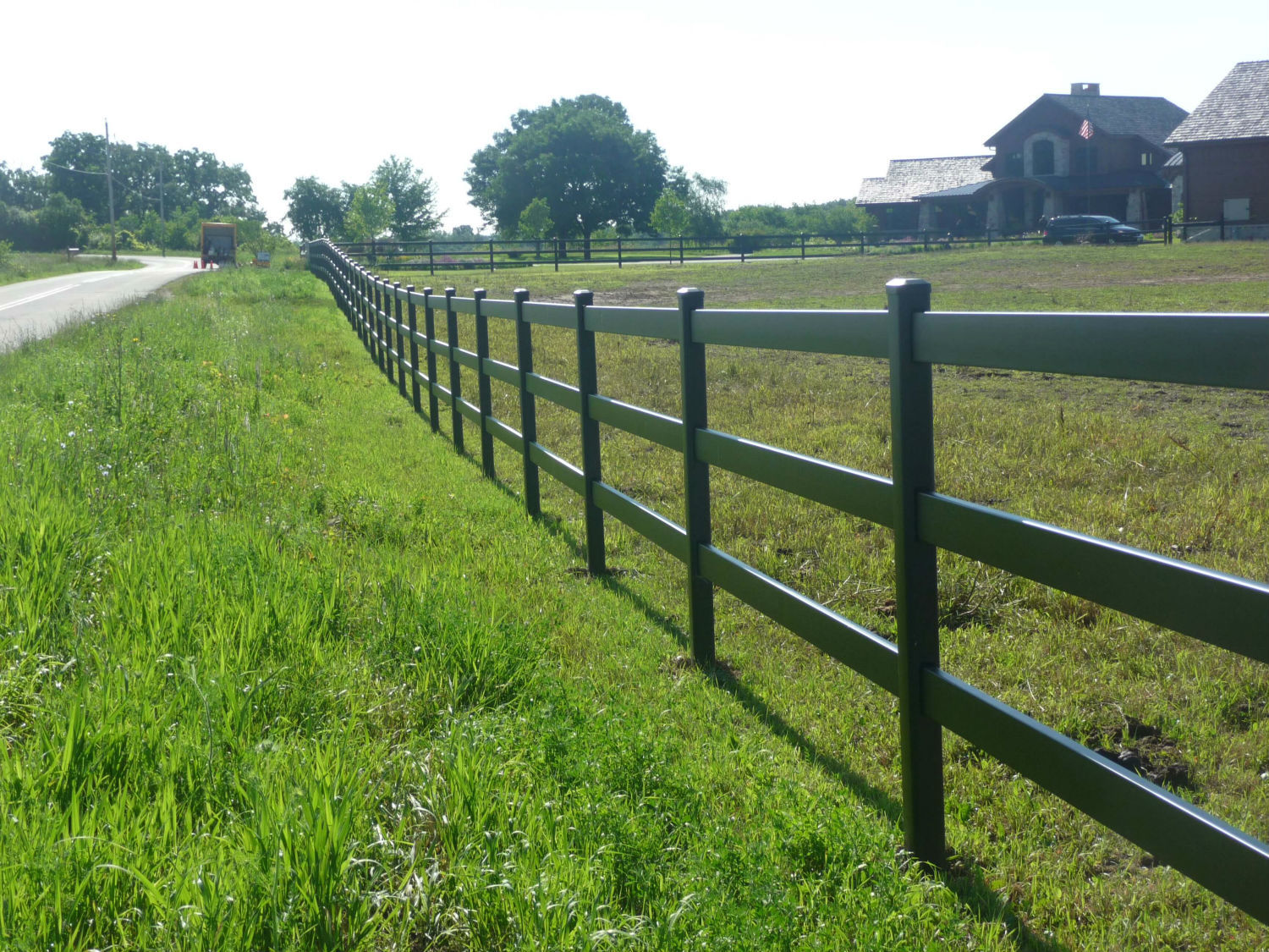 Installation by B & M Fence Co.
