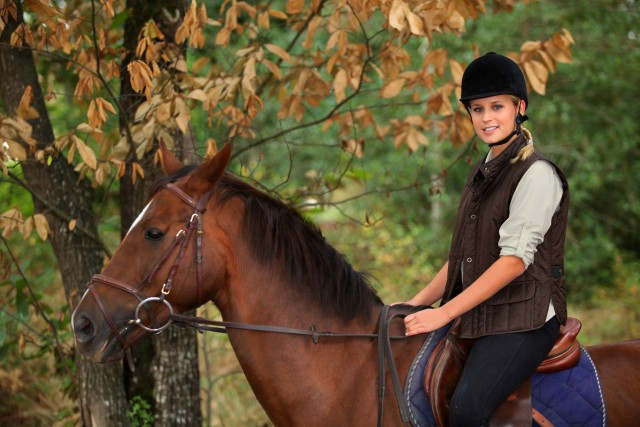 Trail Riding Safely During Hunting Season