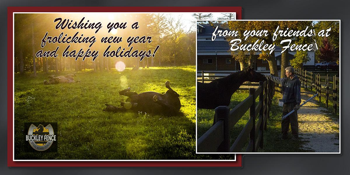 Happy Holidays Buckley Fence