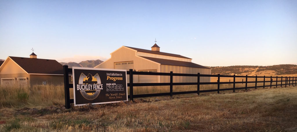Buckley Fence Install Park City UT