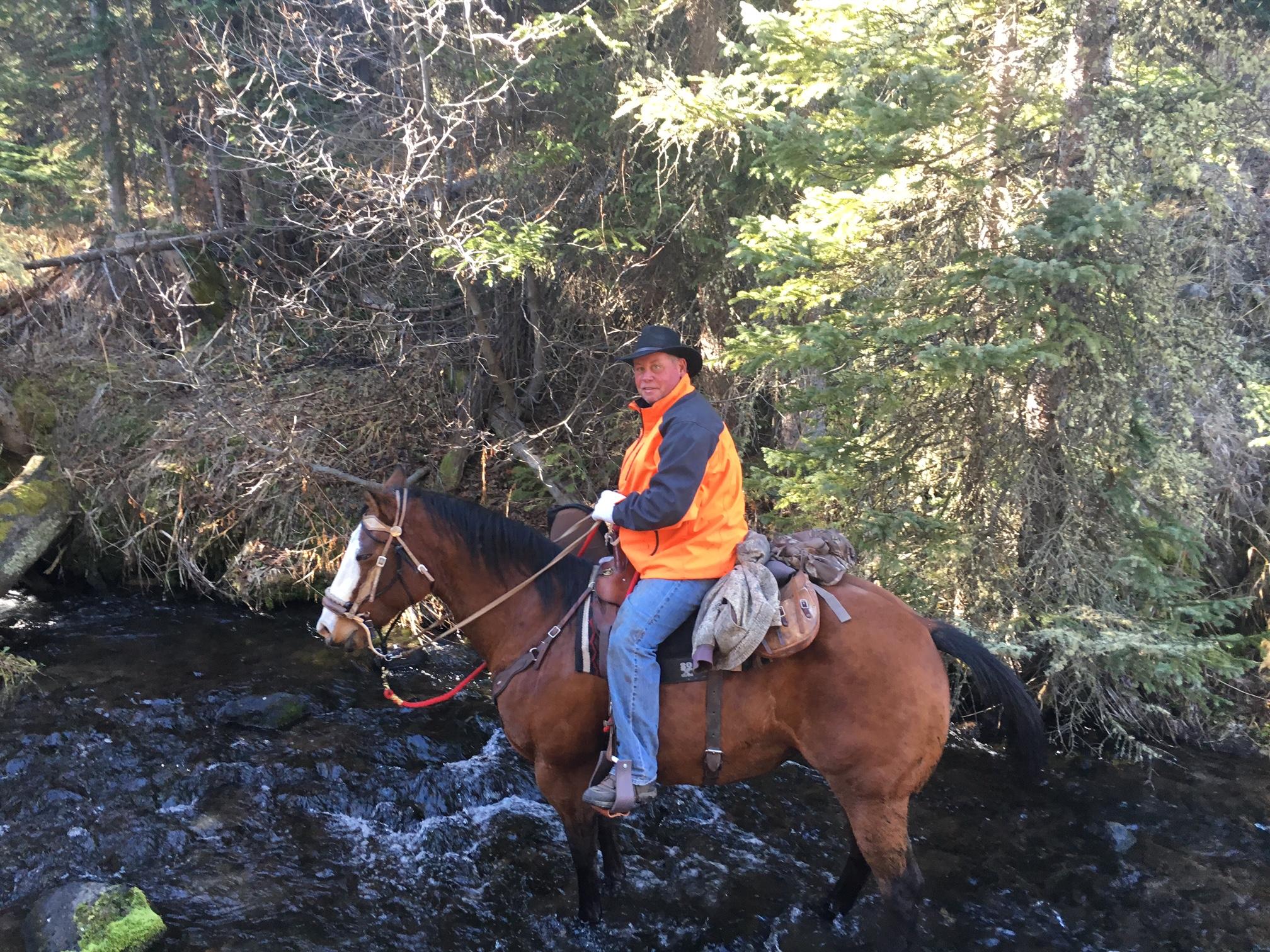 Returning from Elk Hunt