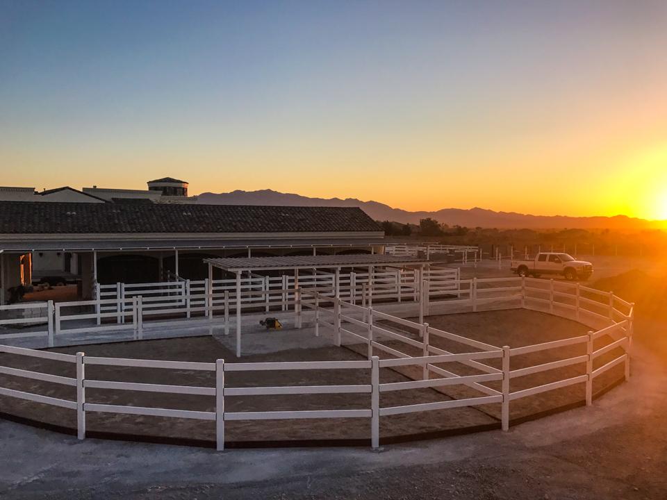 Sunset on Las Vegas Install